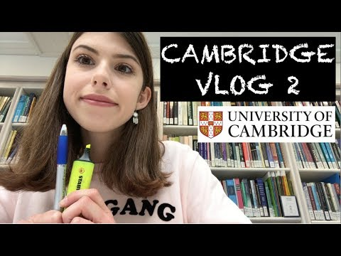 CAMBRIDGE VLOG 2: Library fun, supervisions and assassin