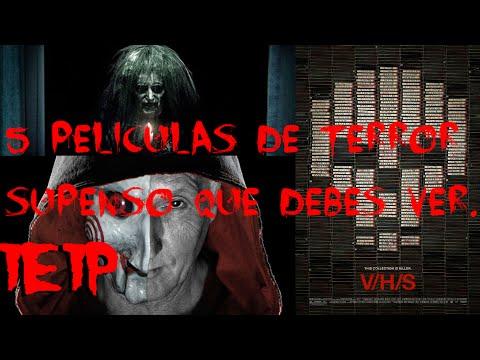5 PELICULAS DE TERROR/SUSPENSO QUE DEBES VER.(TRAILERS)