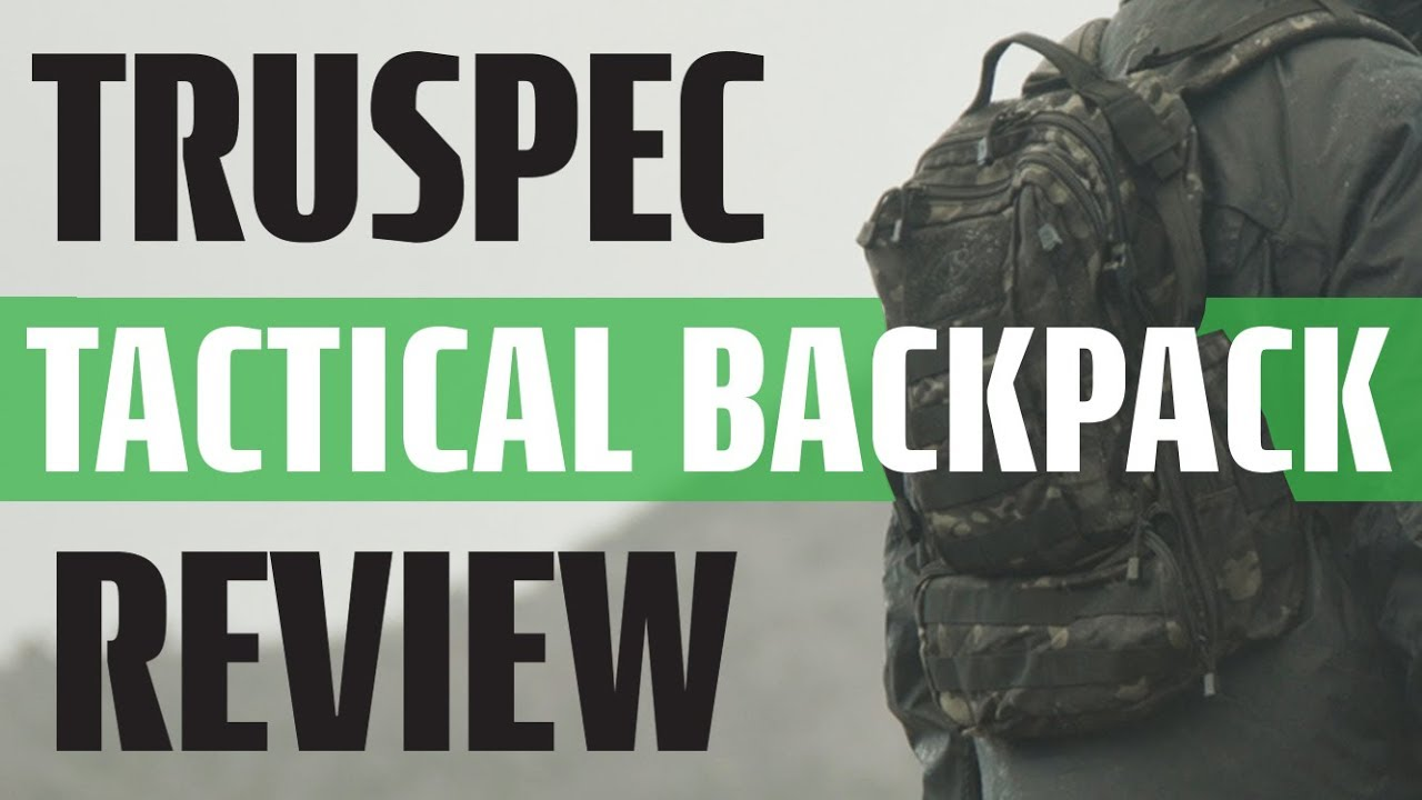 Concealed Carry Double Strap Tactical Backpack - Circadian TRU-SPEC Backpack  Review d6109b6a83f76