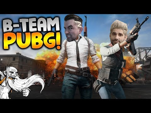 "B-Team Player Unknown's Battlegrounds Gameplay - ""BDUBS THE TRUE HERO!!!"" - Let's Play Walkthrough"