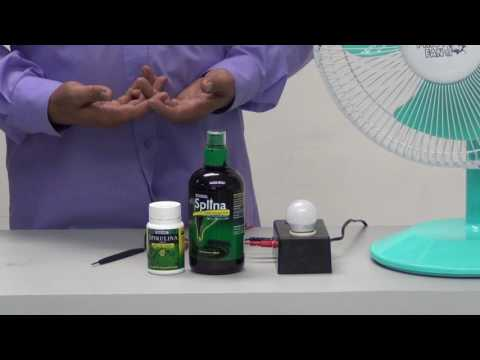 Product Demonstration - Splina Chlorophyll and Hawaiian Spirulina [Tagalog]