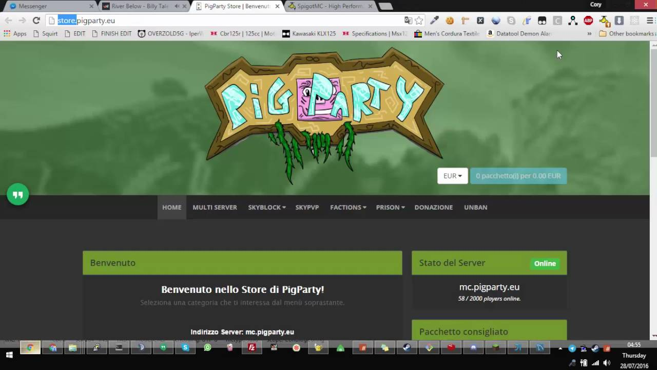 Lets Java Bukkit Online Time YouTube - Minecraft bukkit spieler entbannen