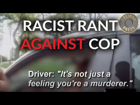 Woman Driver Racist Rant Against Hispanic Cop