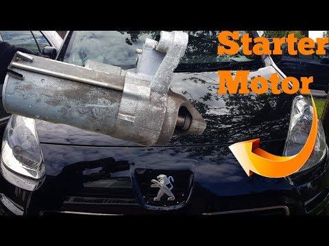 HOW TO REMOVE PEUGEOT PARTNER STARTER MOTOR
