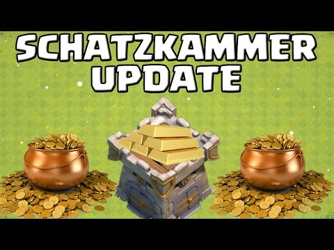 TREASURY UPDATE - neue Infos! || CLASH OF CLANS || Schatzkammer || COC [Deutsch/German HD+]