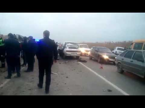 Страшная авария в Дагестане
