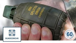 60 Sekunden Bundeswehr: Handgranate