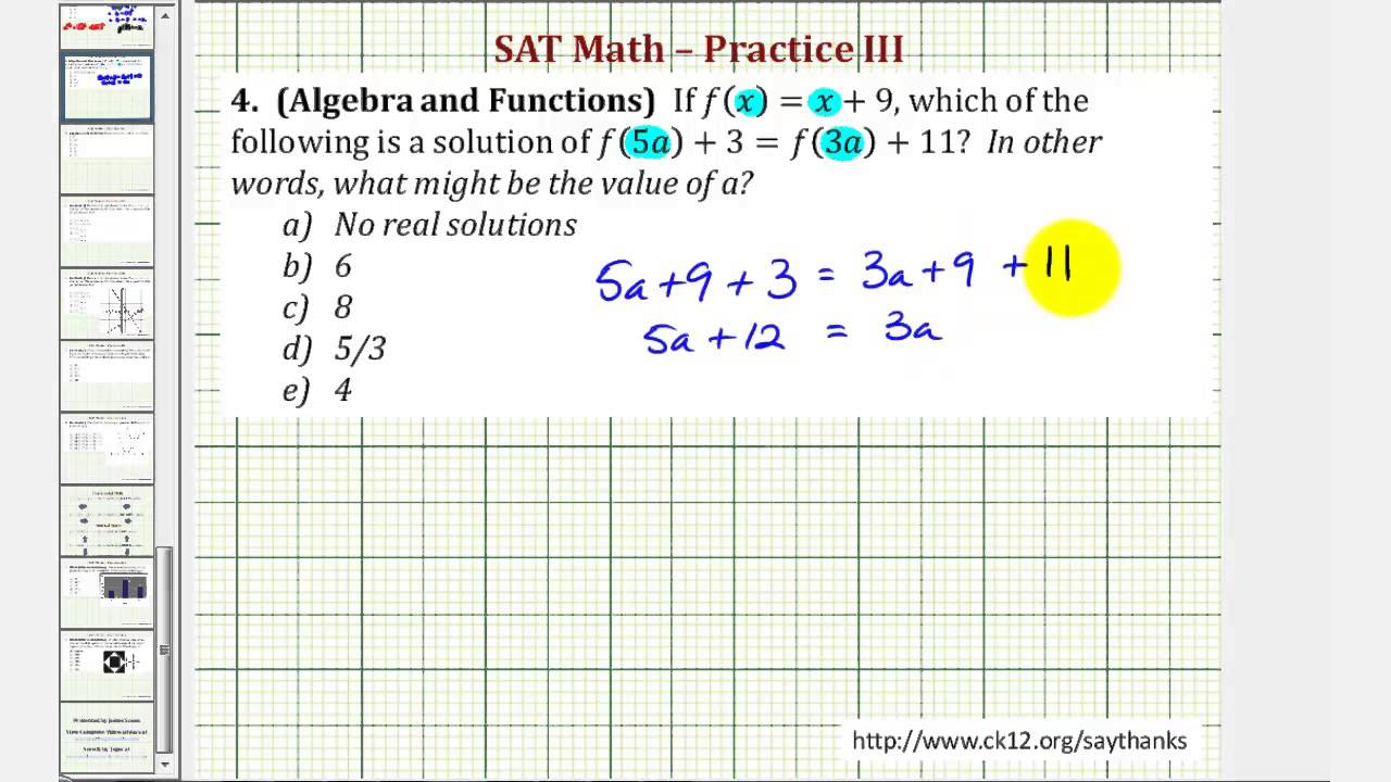 Printables Sat Prep Worksheets printable sat prep math worksheets 6th grade worksheet algebra and functions practice for kids prep