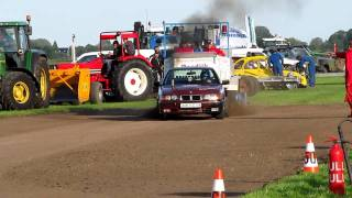 Carpulling Snelrewaard 2011 Chain Reaction 1ste manche autotrek