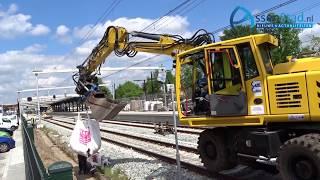 ProRail werkt tijdens treinloos weekend in Assen