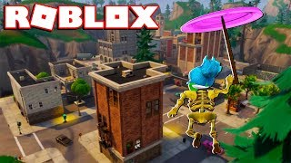 FORTNITE BATTLE ROYALE no ROBLOX!!