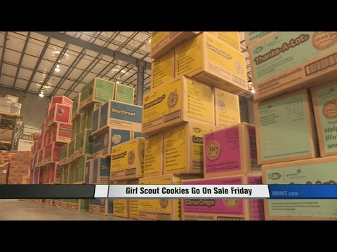 Girl Scout Cookies Go on Sale Friday