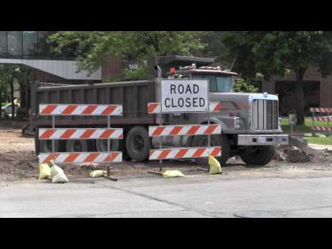 Condo Construction Wrapping-Up, Street Construction Ramping-Up in Downtown St. Cloud [VIDEO]
