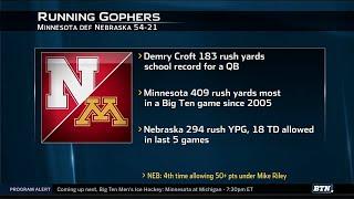 Nebraska at Minnesota - Football Highlights