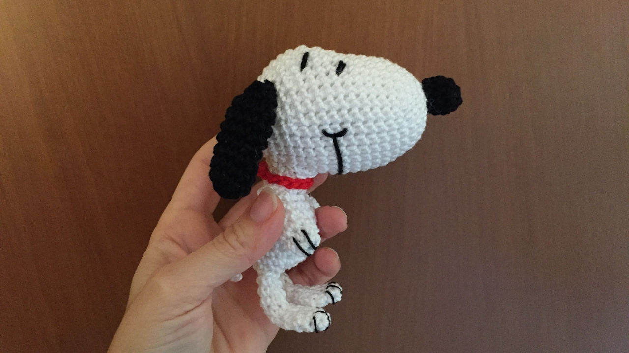 Amigurumi Tutorial Natale : Snoopy amigurumi tutorial youtube