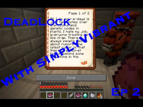Minecraft Map Deadlock 2  (We Should Read)  
