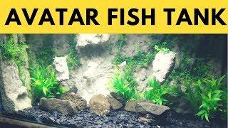 Amazing Aquarium | AVATAR Aquarium with floating mountains