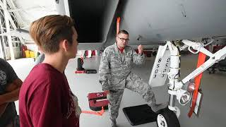High school students get inside look at 96th Test Wing in STEM based trip to Eglin Air Force Base.