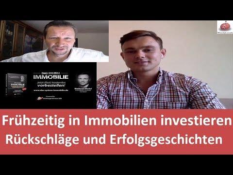 Frühzeitig in Immobilien investieren - Rückschläge und Erfolgsgeschichten