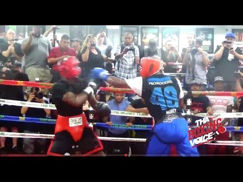 Rare Floyd Mayweather Jr , Sparring two Different Fighters 35minutes Straight