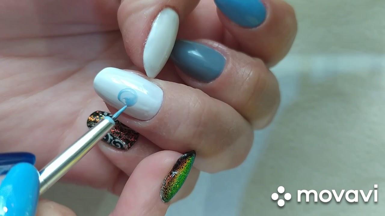 Nails Manicure Sam Sobie Poradzisz Narysuj Proste Jagody Youtube