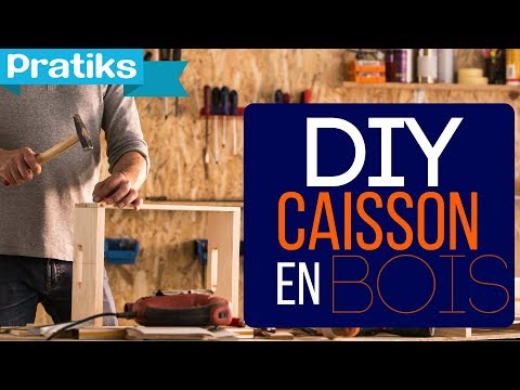 comment faire un caisson en bois 1 re partie assemblage. Black Bedroom Furniture Sets. Home Design Ideas