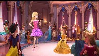 Disney Princesses meets BARBIE Life in the dreamhouse