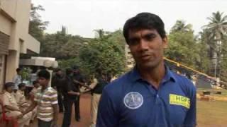 Munaf Patel on Match 1