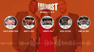 First Things First audio podcast(12.17.18)Cris Carter, Nick Wright, Jenna Wolfe | FIRST THINGS FIRST