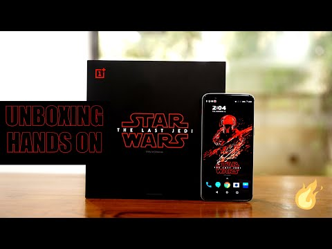 OnePlus 5T Star Wars Limited Edition Unboxing and Hands On First Look