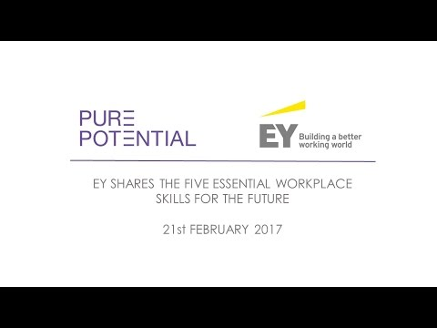 EY shares the five essential workplace skills for the future