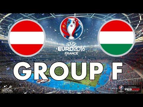 PES 2016 - EURO 2016 - Group F - Austria v Hungary