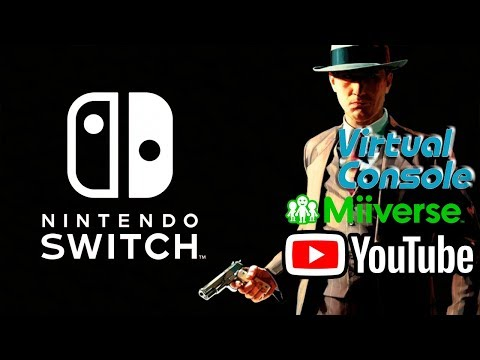 Nintendo Switch - Apps and Virtual Console coming?