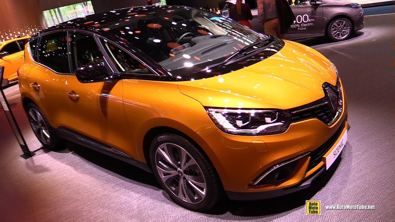 2018 renault scenic exterior and interior walkaround 2017 frankfurt auto show youtube. Black Bedroom Furniture Sets. Home Design Ideas