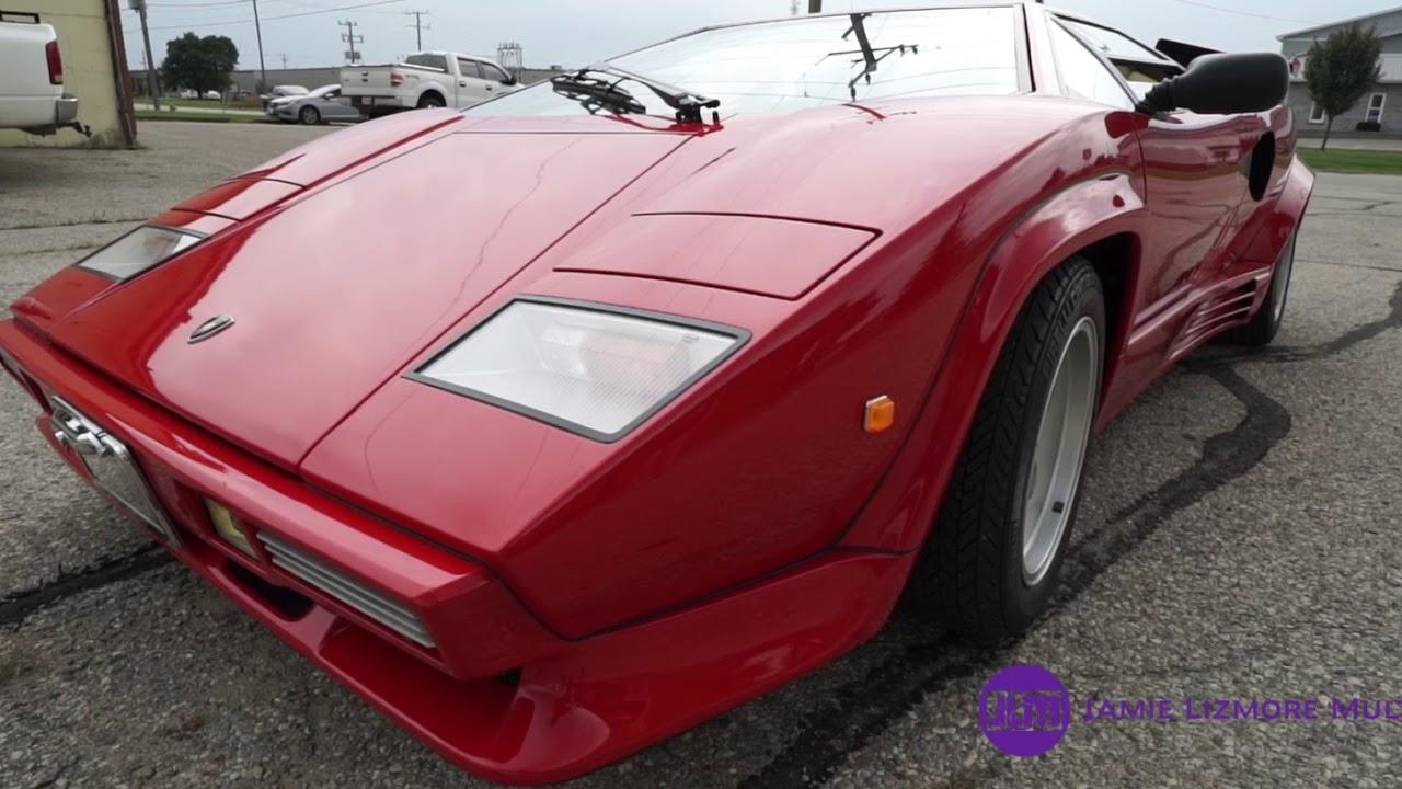 Lamborghini Countach Replica Super Extended Cut Youtube