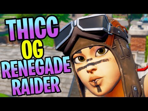 The Rarest OG THICC Skin In Fortnut | THICC OG Renegade Raider