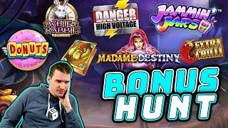 Bonus Hunt Results 28-01-19 - 16 Slot Features!
