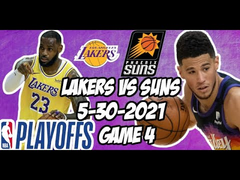 2021 NBA Playoffs: Lakers vs. Suns odds, line, picks, Game 4 ...