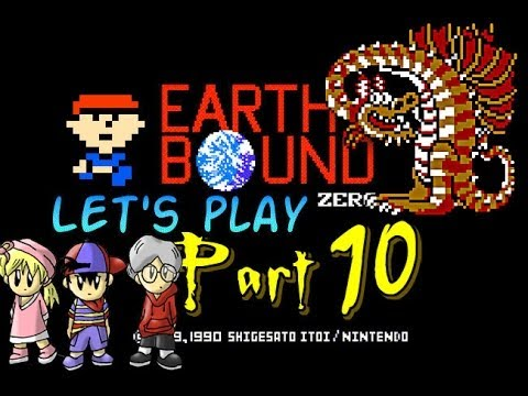 Let's Play Mother 1 Part 10: A Dragon & 6th Melody