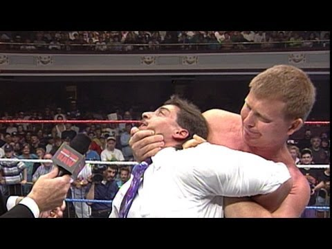 Bob Backlund demonstrates the Cross-Face Chickenwing: Raw,