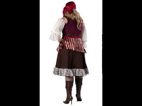 Deckhand Darling Adult Womens Plus Size Costume