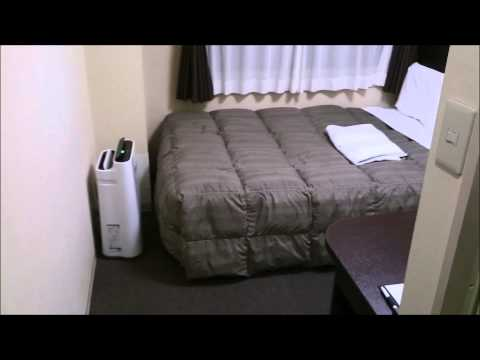 Japanese Hotel Room Tour - Okayama Comfort Hotel Okayama