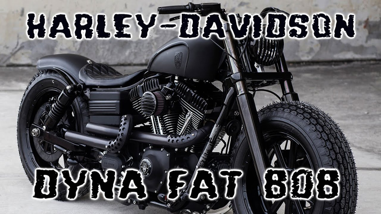 harley davidson dyna fat bob custom youtube. Black Bedroom Furniture Sets. Home Design Ideas
