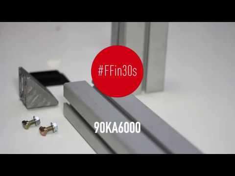 #FFin30s: 90KA6000 alu profile for racks and displays