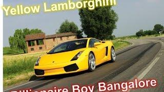 Insane Yellow Lamborghini Gallardo