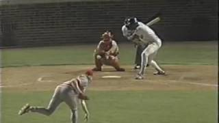 Chicago Cubs Andre Dawson Ejected by Joe West
