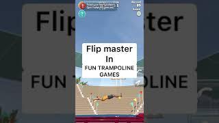 Flip Master In Fun Trampoline Games