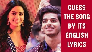 Guess the Songs by Its English Lyrics - Bollywood Songs Challenge