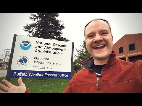 Launching a weather balloon with the US National Weather Service