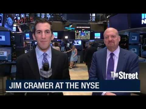Jim Cramer Discusses Cisco, Walmart, Alibaba, Ascena Retail and Foot Locker